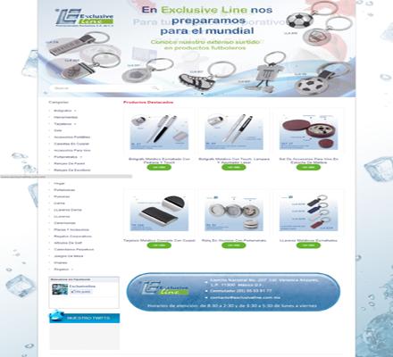 Catalogo virtual de Exclusiveline