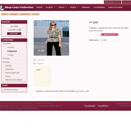 Catalogo virtual de Shop Ladys