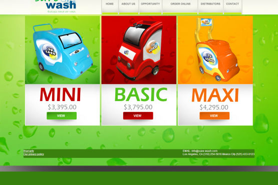 Catalogo virtual de Sabe Wash