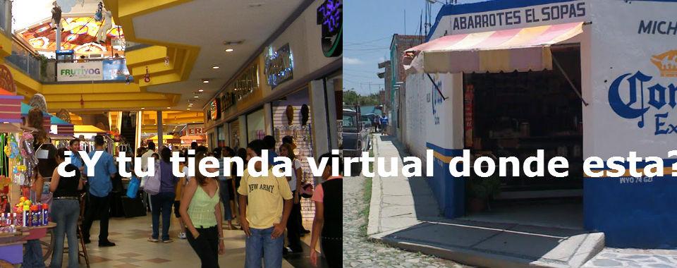 ¿Y tu donde tienes tu Tienda virtual en una Plaza o un local escondido?